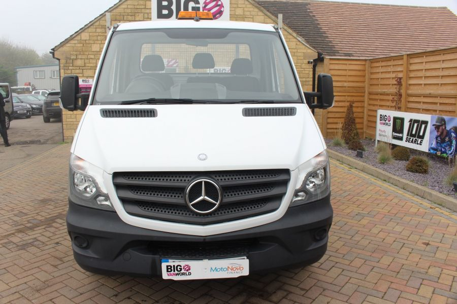 MERCEDES SPRINTER 313 CDI LWB SINGLE CAB ALLOY DROPSIDE - 6885 - 9