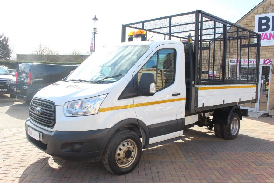 FORD TRANSIT 350 TDCI 125 SINGLE CAB 'ONE STOP' CAGED TIPPER DRW RWD - 7297 - 15