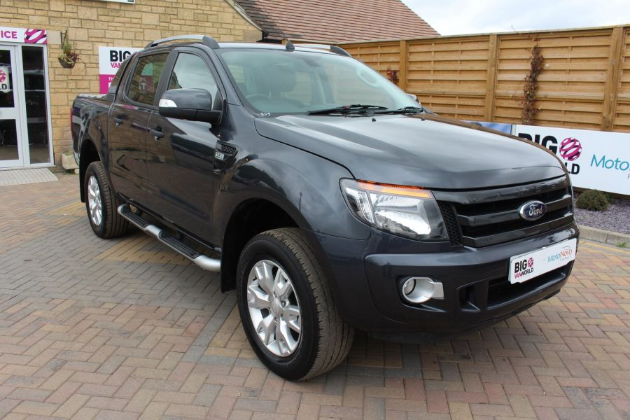 FORD RANGER WILDTRAK 4X4 TDCI 197 BHP DOUBLE CAB WITH MOUNTAIN TOP - 6601 - 3