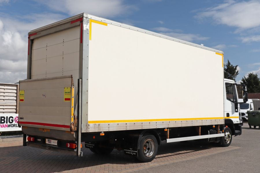 IVECO EUROCARGO  75E16S 4X2 GRP BOX WITH TAIL LIFT  (13925) - 12206 - 8