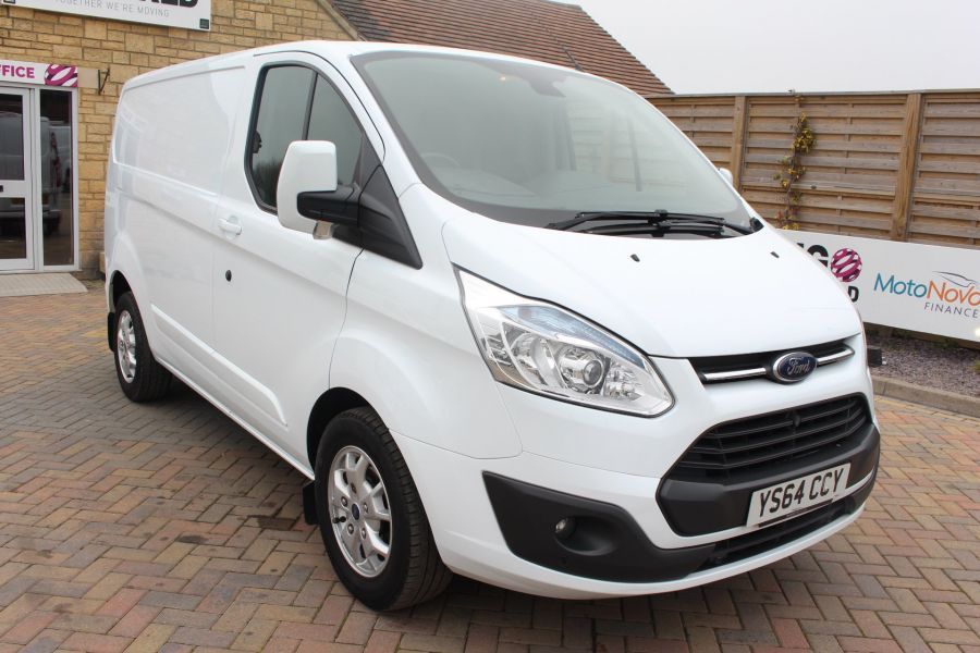 FORD TRANSIT CUSTOM 290 TDCI 155 L1 H1 LIMITED SWB LOW ROOF FWD - 9074 - 1