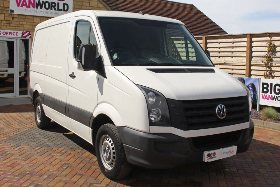 VOLKSWAGEN CRAFTER CR30 TDI 109 SWB LOW ROOF - 9154 - 1