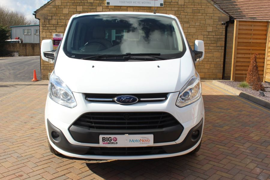 FORD TOURNEO CUSTOM 300 TDCI 125 L2 H1 LIMITED 9 SEAT MINIBUS SWB LOW ROOF FWD - 7215 - 9