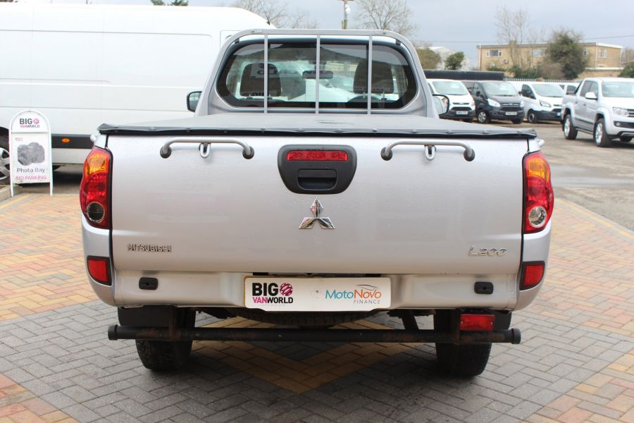 MITSUBISHI L200 DI-D 134 4X4 4LIFE LWB SINGLE CAB WITH TONNEAU COVER - 7477 - 6