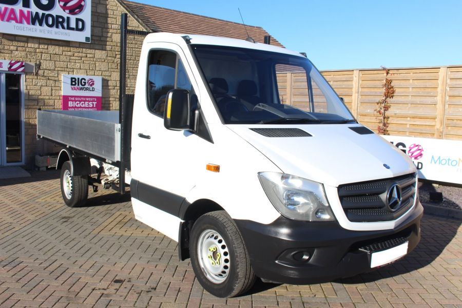 MERCEDES SPRINTER 313 CDI MWB SINGLE CAB NEW BUILD ALLOY TIPPER - 8728 - 7