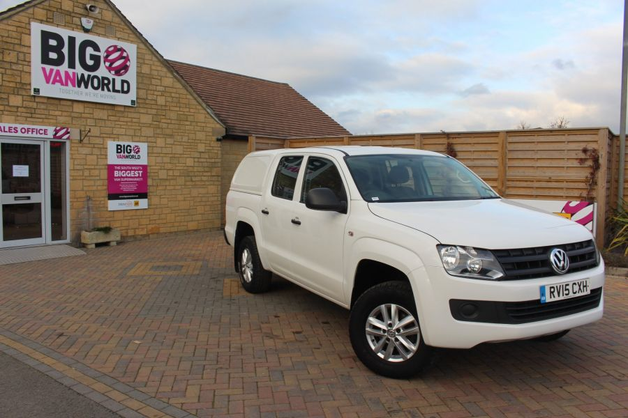 VOLKSWAGEN AMAROK DC TDI 140 STARTLINE 4MOTION DOUBLE CAB WITH TRUCKMAN TOP - 8652 - 2