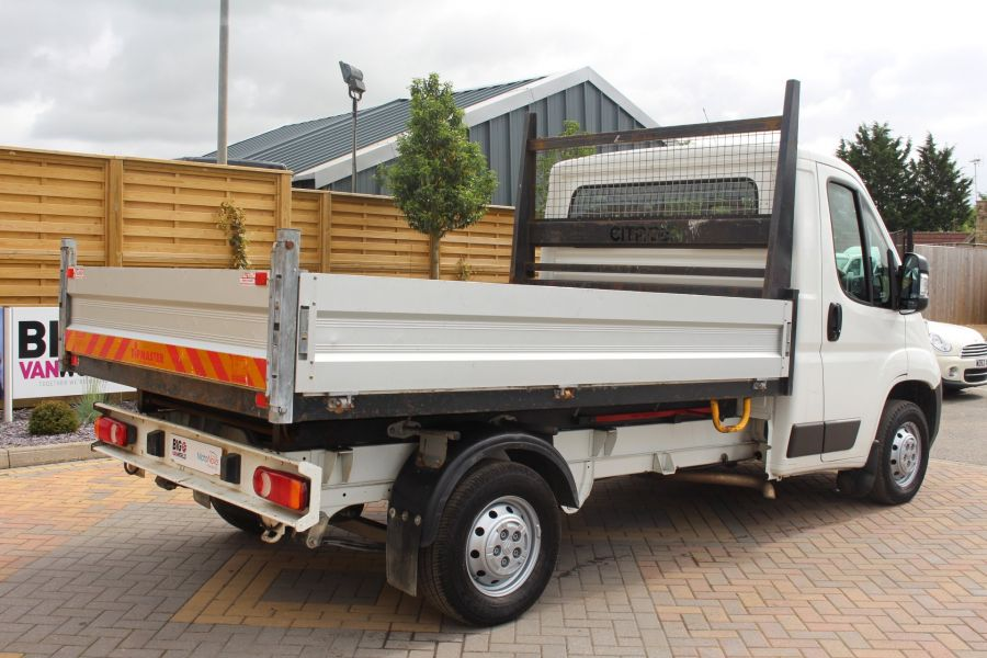CITROEN RELAY 35 HDI 130 MWB L2 SINGLE CAB ALLOY TIPPER - 6202 - 13