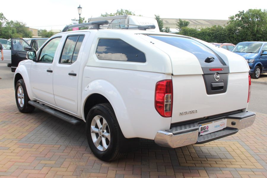 NISSAN NAVARA DCI 190 TEKNA CONNECT 4X4 DOUBLE CAB WITH SPORT TRUCKMAN TOP - 6295 - 7