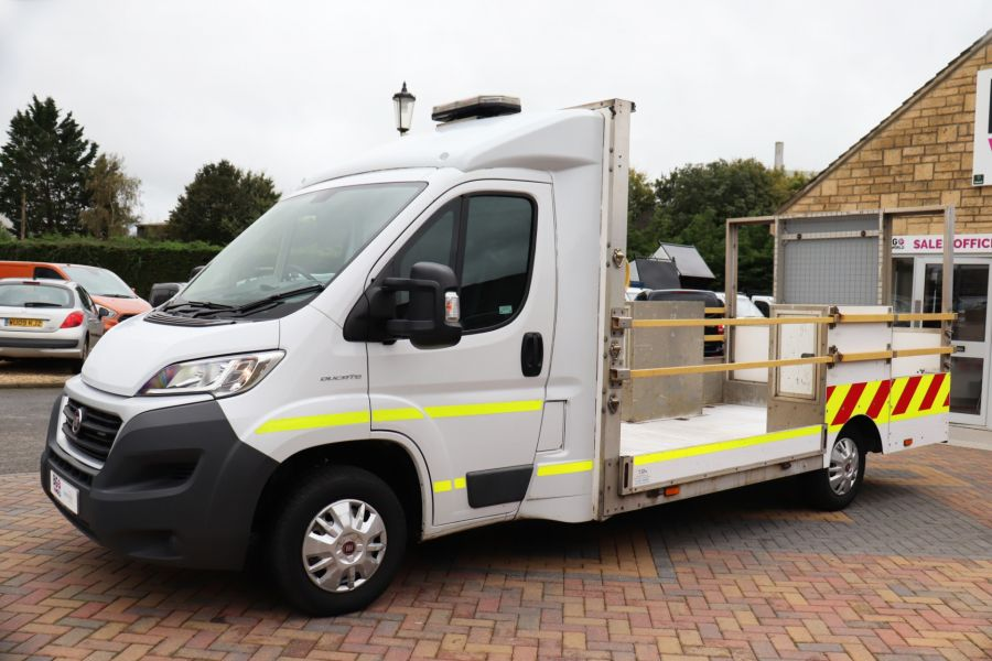 FIAT DUCATO 35 MULTIJET130 SINGLE CAB TRAFFIC MANAGEMENT - 10262 - 8