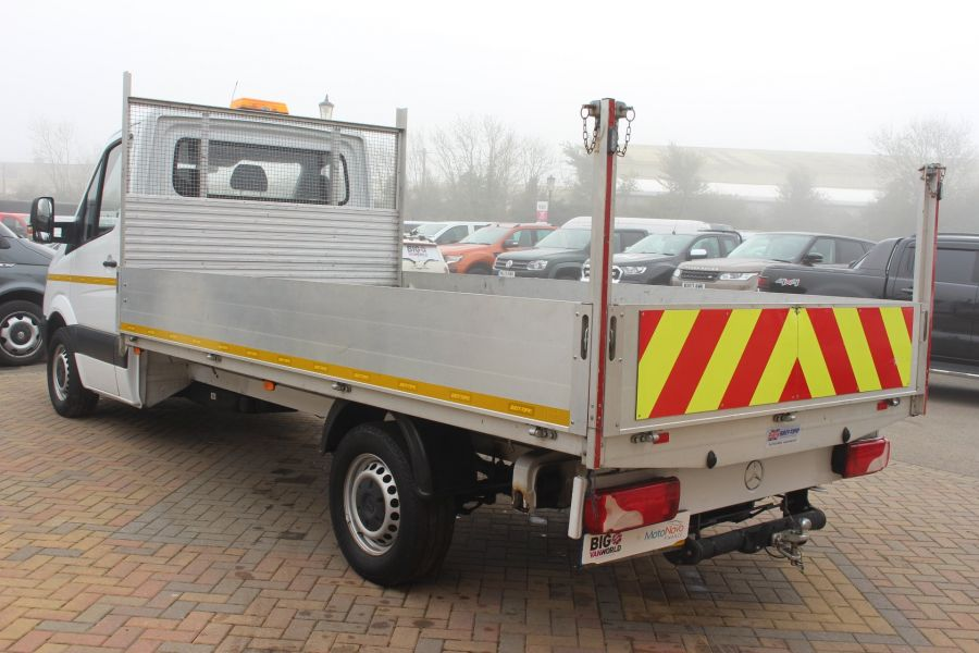 MERCEDES SPRINTER 313 CDI LWB SINGLE CAB ALLOY DROPSIDE - 6885 - 7