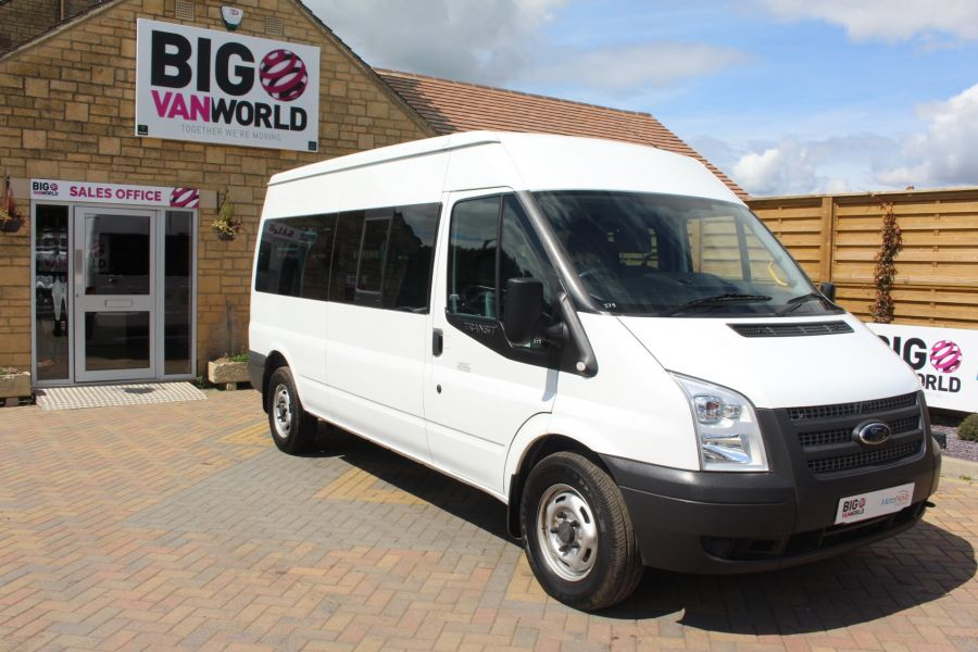 FORD TRANSIT 350 TDCI 135 LWB MEDIUM ROOF 14 SEAT BUS - 6413 - 2
