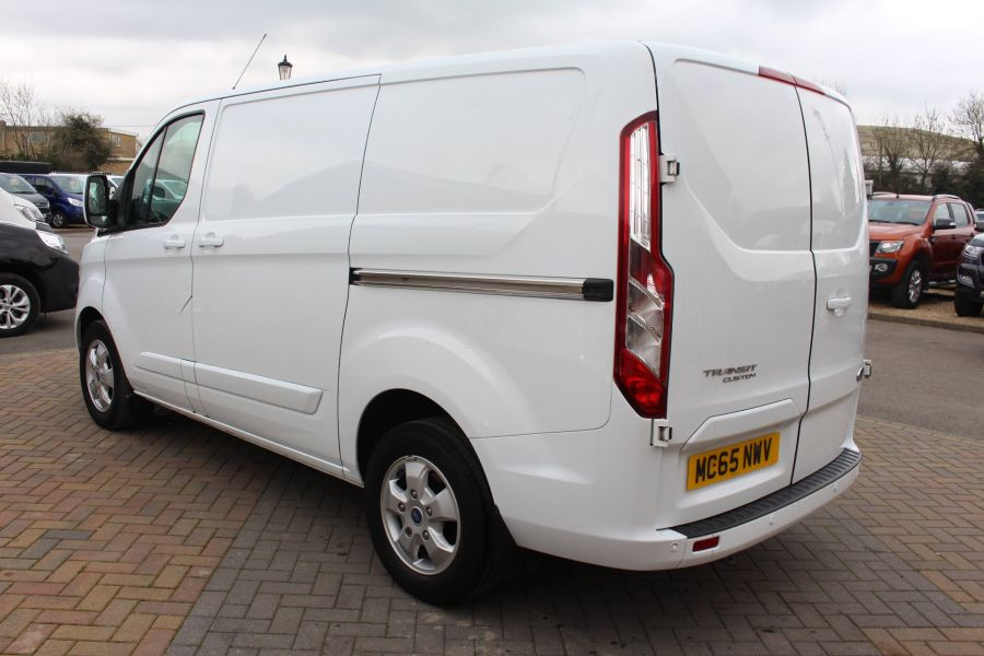 FORD TRANSIT CUSTOM 330 TDCI 125 L1 H1 LIMITED SWB LOW ROOF FWD - 9004 - 7