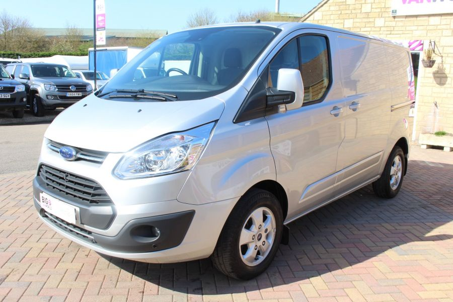 FORD TRANSIT CUSTOM 290 TDCI 170 L1 H1 LIMITED SWB LOW ROOF FWD  VERY RARE - 7563 - 8