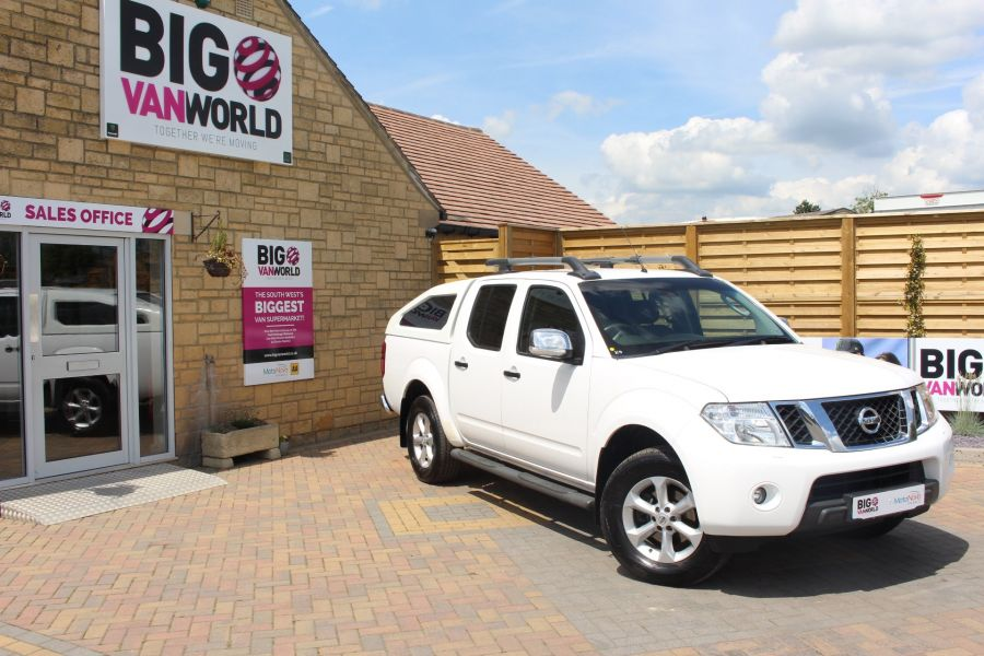 NISSAN NAVARA DCI 190 TEKNA CONNECT 4X4 DOUBLE CAB WITH SPORT TRUCKMAN TOP - 6295 - 1