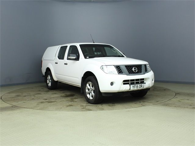 NISSAN NAVARA DCI 144 VISIA 4X4 DOUBLE CAB WITH TRUCKMAN TOP - 7405 - 1