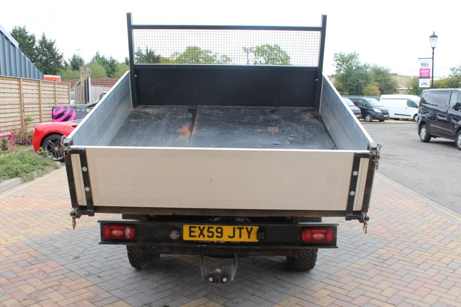 FORD RANGER XL 4X4 TDCI SUPER CAB ALLOY TIPPER - 6057 - 6