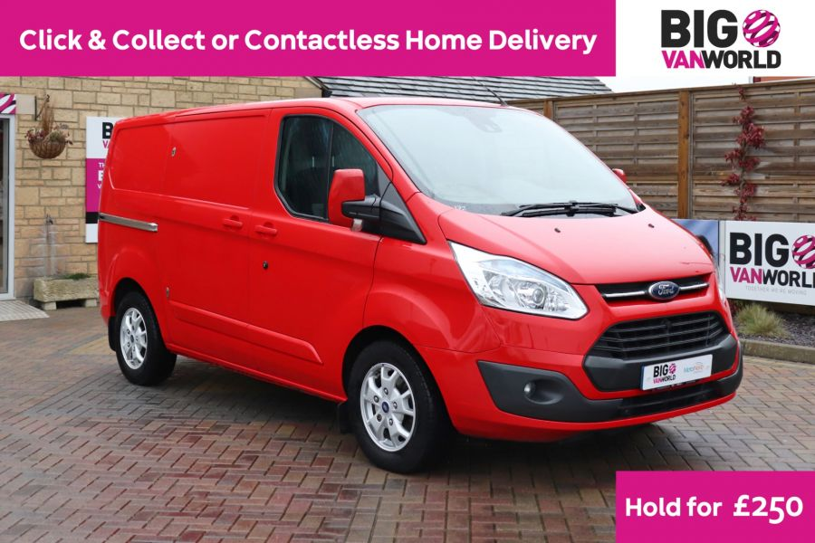 FORD TRANSIT CUSTOM 290 TDCI 125 L1H1 LIMITED SWB LOW ROOF FWD - 11904 - 1