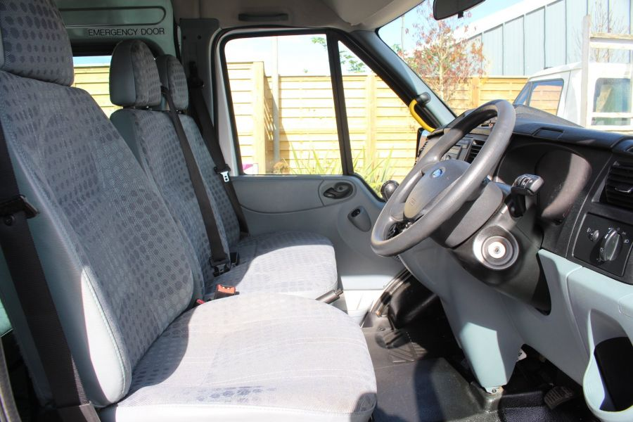 FORD TRANSIT 430 TDCI 135 LWB EL HIGH ROOF 17 SEATS BUS RWD - 6765 - 10