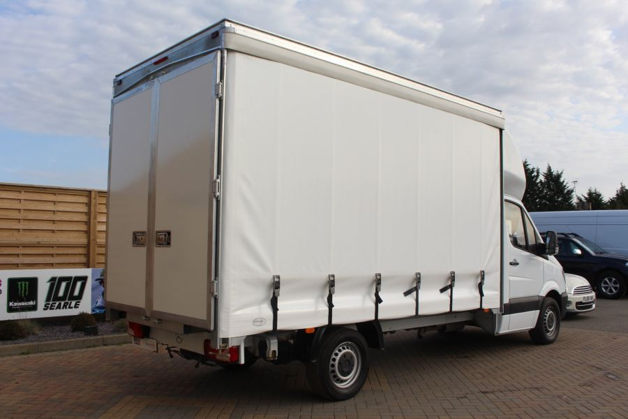 MERCEDES SPRINTER 313 CDI LWB 14FT CURTAIN SIDE LUTON BOX - 6147 - 4