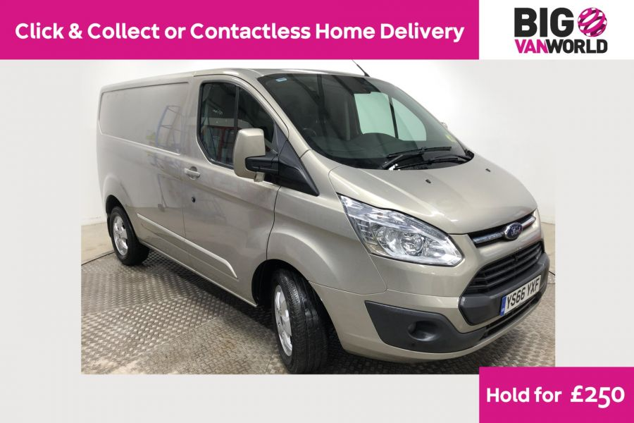 FORD TRANSIT CUSTOM 290 TDCI 170 L1H1 LIMITED SWB LOW ROOF FWD - 12194 - 1