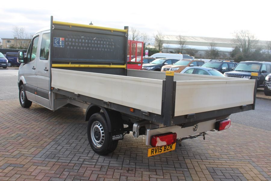 VOLKSWAGEN CRAFTER CR35 TDI 109 LWB 7 SEAT DOUBLE CAB ALLOY DROPSIDE - 9019 - 7