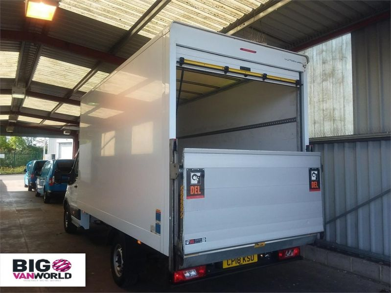 FORD TRANSIT 350 TDCI 130 L4 'ONE STOP' LUTON WITH TAIL LIFT - 10128 - 3