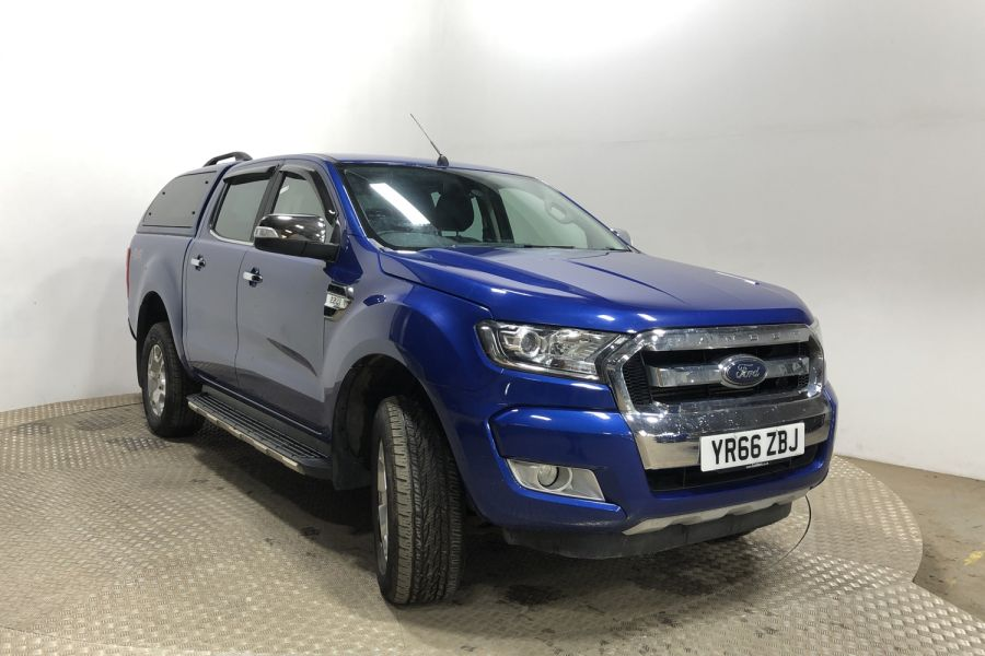 FORD RANGER TDCI 160 LIMITED 4X4 DOUBLE CAB WITH TRUCKMAN TOP - 12030 - 1