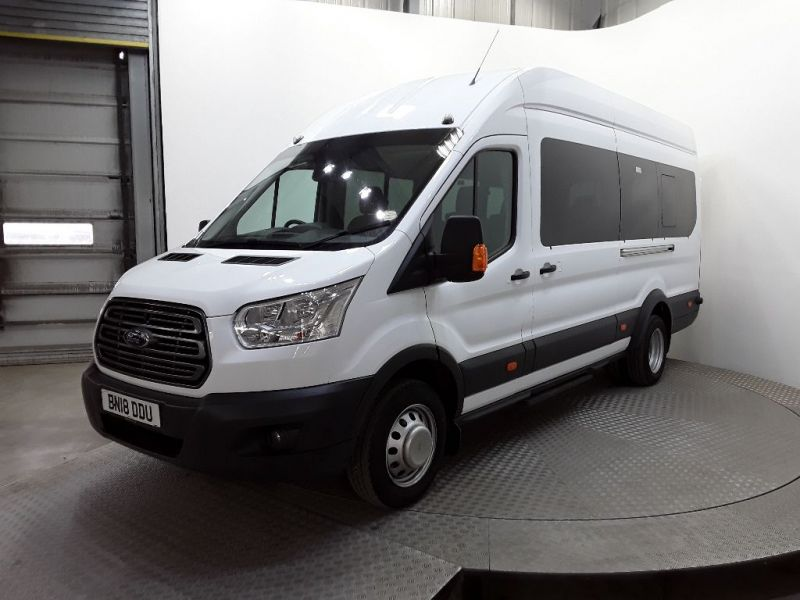 FORD TRANSIT 460 TDCI 155 TREND HIGH ROOF 17 SEAT BUS - 11303 - 1