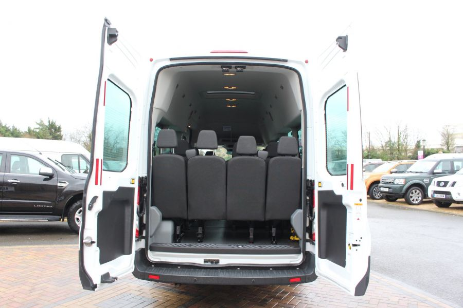 FORD TRANSIT 460 TDCI 125 L4 H3 TREND 17 SEAT BUS HIGH ROOF DRW RWD - 8462 - 25