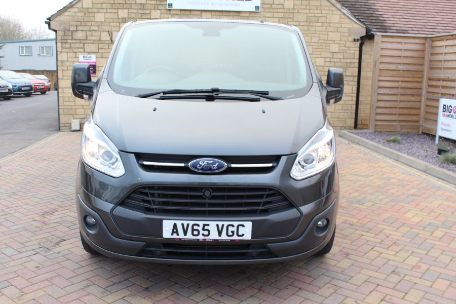 FORD TRANSIT CUSTOM 270 TDCI 125 L1 H1 LIMITED SWB LOW ROOF - 8050 - 9