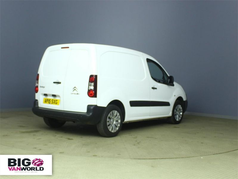 CITROEN BERLINGO 625 HDI 75 L1 H1 ENTERPRISE SWB LOW ROOF - 6663 - 2