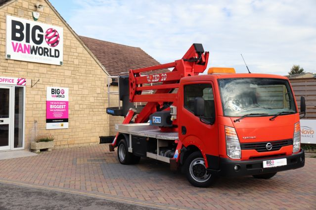 Used NISSAN CABSTAR in Used Vans Swindon for sale