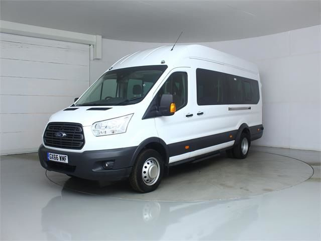 FORD TRANSIT 460 TDCI 125 L4 H3 TREND 17 SEAT BUS HIGH ROOF DRW RWD - 7579 - 5