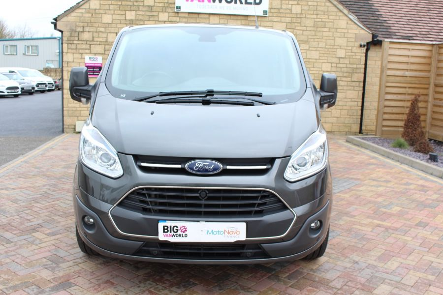 FORD TRANSIT CUSTOM 290 TDCI 125 L1 H1 LIMITED DOUBLE CAB 6 SEAT CREW VAN SWB LOW ROOF FWD - 7542 - 9