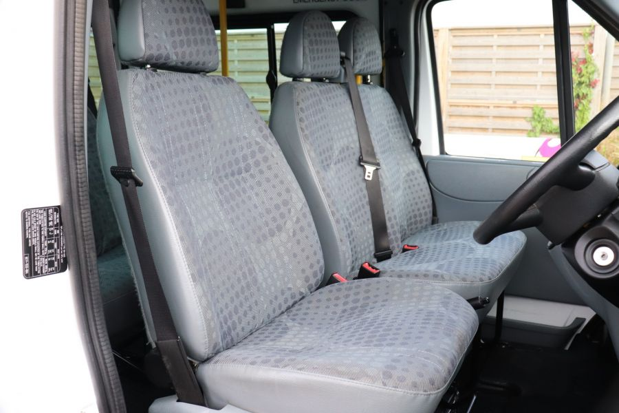 FORD TRANSIT 430 TDCI 135 EL LWB 17 SEAT BUS WITH WHEELCHAIR ACCESS HIGH ROOF DRW RWD - 9665 - 13