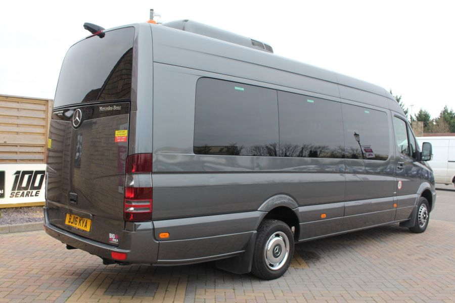 MERCEDES SPRINTER 516 TRAVEL 45 XLWB 16 SEAT SINGLE DECK COACH - 8762 - 4