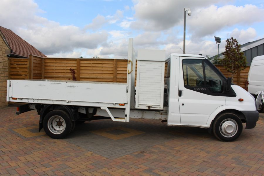FORD TRANSIT 350 TDCI 100 LWB ALLOY DROPSIDE WITH TOOL BOX DRW - 6528 - 4