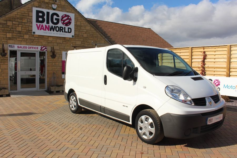 RENAULT TRAFIC SL27 DCI 115 SWB LOW ROOF - 7262 - 2
