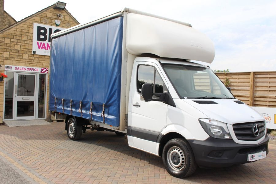 MERCEDES SPRINTER 313 CDI 129 LWB CURTAINSIDER - 7969 - 3