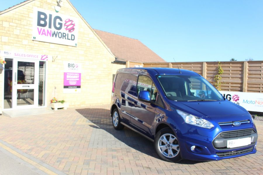 FORD TRANSIT CONNECT 200 TDCI 125 L1 H1 LIMITED SWB LOW ROOF - 8327 - 2