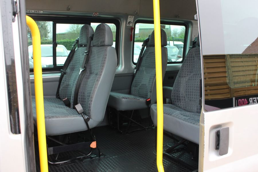 FORD TRANSIT 430 TDCI 135 HIGH ROOF 17 SEAT BUS - 5825 - 25