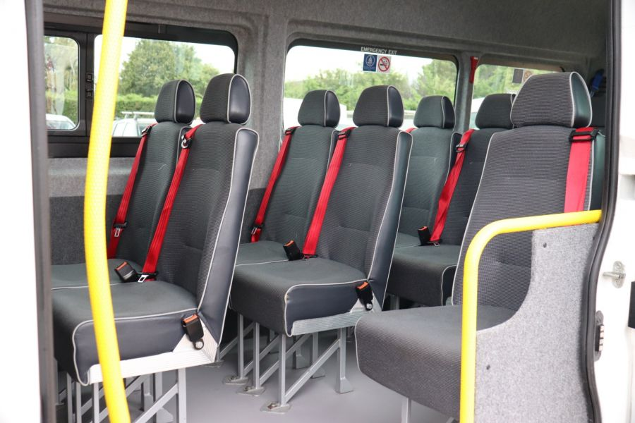 PEUGEOT BOXER 440 HDI 130 L4H2 17 SEAT BUS HIGH ROOF WITH WHEELCHAIR ACCESS - 9625 - 36