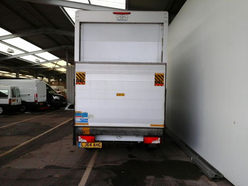 MERCEDES SPRINTER 313 CDI 129 LWB EXTRA HIGH ROOF LUTON WITH TAIL LIFT - 9047 - 3