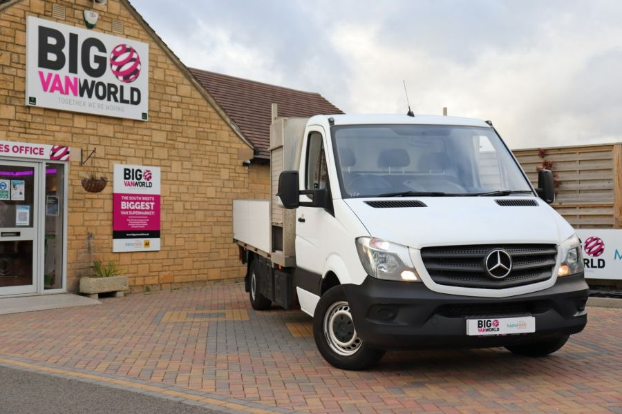 MERCEDES SPRINTER 314 CDI 140 LWB SINGLE CAB ALLOY DROPSIDE - 11135 - 1