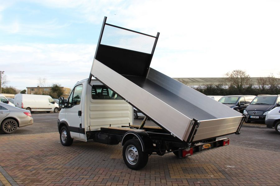 IVECO DAILY 35S11 MWB SINGLE CAB 11FT 6IN ALLOY TIPPER - 5178 - 4