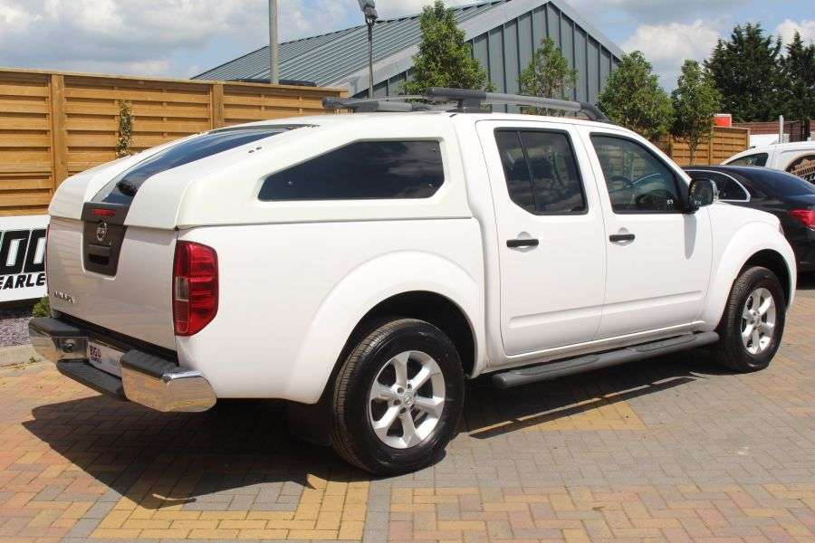 NISSAN NAVARA DCI 190 TEKNA CONNECT 4X4 DOUBLE CAB WITH SPORT TRUCKMAN TOP - 6295 - 5