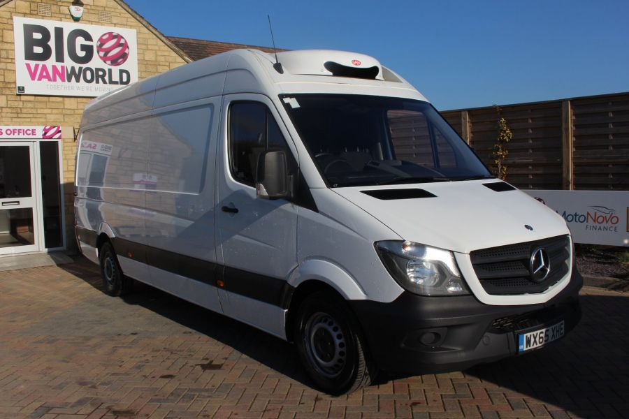 MERCEDES SPRINTER 313 CDI 129 LWB FRIDGE VAN HIGH ROOF - 9146 - 1