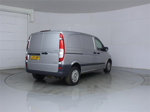 MERCEDES VITO 122 CDI 224 COMPACT SWB LOW ROOF - 7046 - 2