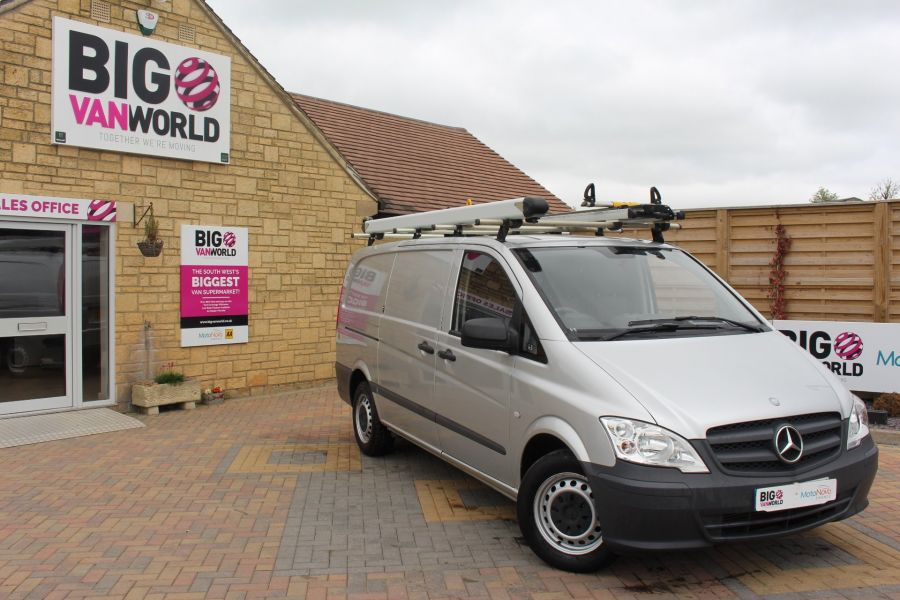MERCEDES VITO 113 CDI 136 LWB LOW ROOF - 7671 - 2