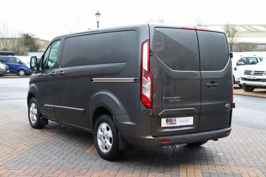 FORD TRANSIT CUSTOM 290 TDCI 170 L1H1 LIMITED SWB LOW ROOF FWD - 10514 - 8